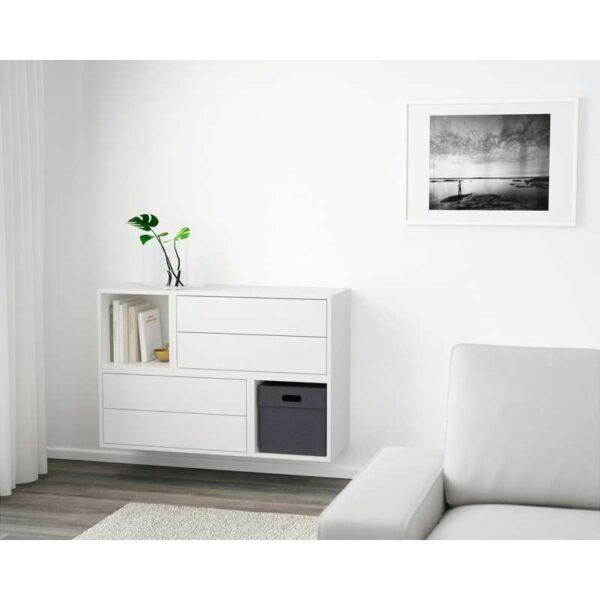 ЭКЕТ Комбинация настенных шкафов белый 105x35x70 см - Артикул: 591.894.86
