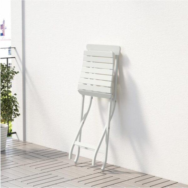МЭЛАРО Садовый стул складной белый - Артикул: 903.761.50