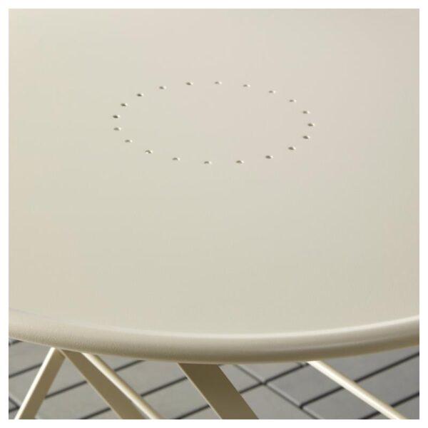 САЛЬТХОЛЬМЕН Стол+2 складных стула,д/сада, бежевый/Куддарна бежевый - Артикул: 192.862.86