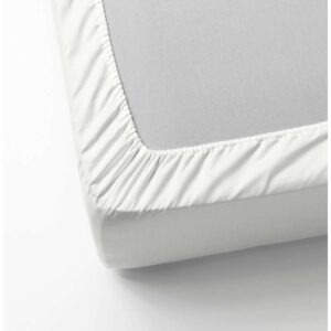 НАТТЭСМИН Простыня натяжная, белый 90x200 см. Артикул: 203.494.57