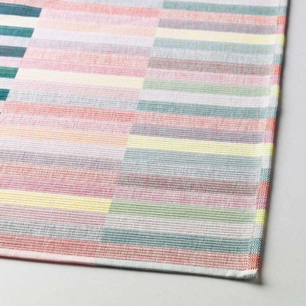 МИТТБИТ Салфетка под приборы розовый бирюзовый/светло-зеленый 45x35 см - Артикул: 003.760.36