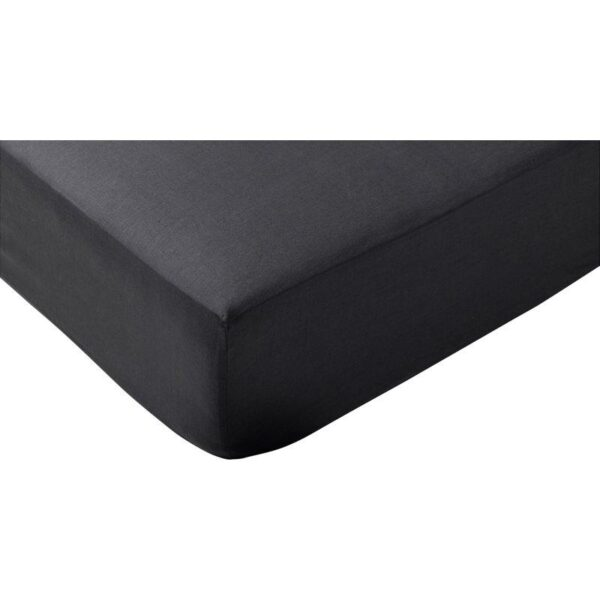 ПУДЕРВИВА Простыня натяжная, темно-серый 90x200 см. Артикул: 604.120.79
