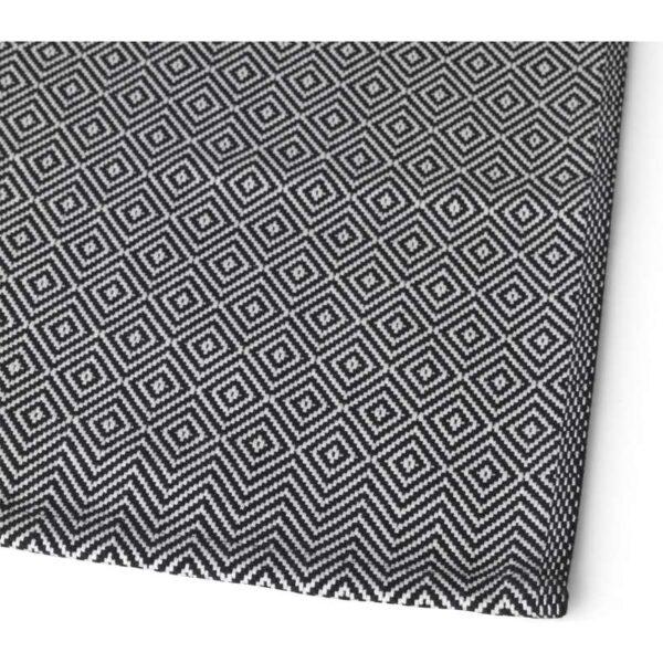 ГОДДАГ Салфетка под приборы черный/белый 35x45 см - Артикул: 903.669.19