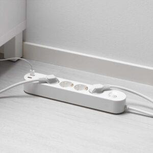 КОПЛА Удлинитель 4-местный/2 USB-порта 3.0 м | 303.625.56