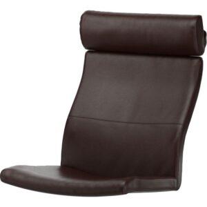 ПОЭНГ Подушка-сиденье на кресло Глосе темно-коричневый - Артикул: 003.830.89