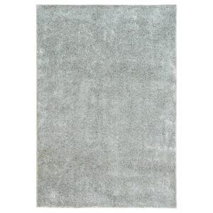ВОНГЕ Ковер, длинный ворс, светло-серый 133x195 см - Артикул: 904.362.29