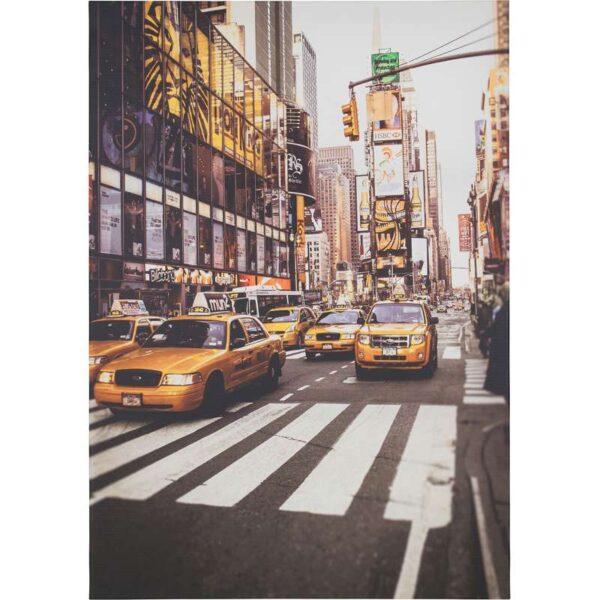 ПЬЕТТЕРИД Картина Такси Нью-Йорка 70x100 см - Артикул: 703.645.20