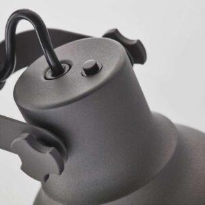 ХЕКТАР Лампа/устройств д/беспровод зарядки темно-серый - Артикул: 603.605.89