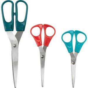 ТРОЙКА Ножницы 3 штуки разноцветный - Артикул: 603.815.15