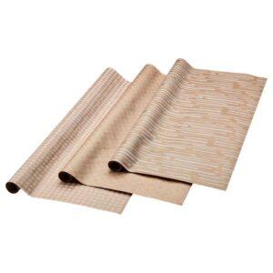 ГИВАНДЕ Рулон оберточной бумаги естественный/белый 3x0.7 м - Артикул: 204.139.76