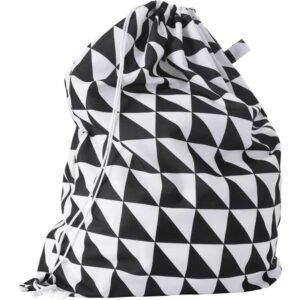 СНАЙДА Мешок для белья черный/белый 60 л - Артикул: 003.753.72