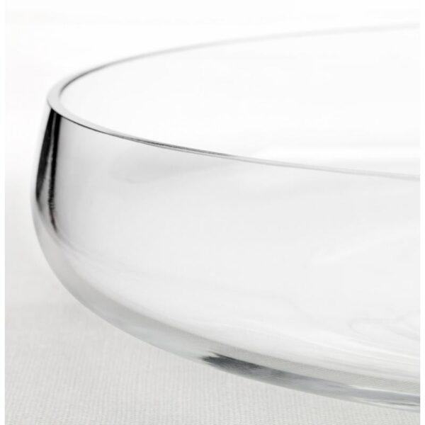 БЕРЭКНА Миска прозрачное стекло 26 см - Артикул: 203.782.42