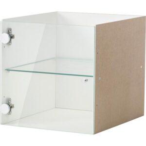 КАЛЛАКС Вставка со стеклянной дверцей белый 33x33 см - Артикул: 704.281.69