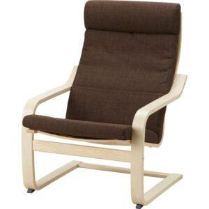 ПОЭНГ Подушка-сиденье на кресло Шифтебу коричневый - Артикул: 904.388.03