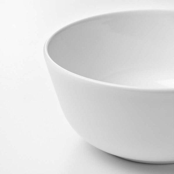ФЛИТИГХЕТ Миска белый 14 см - Артикул: 403.688.88