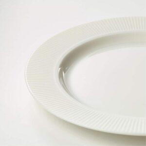 ОФАНТЛИГТ Тарелка десертная белый 22 см - Артикул: 103.624.25