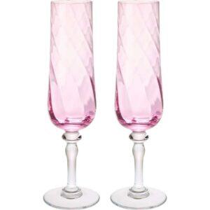 КОНУНГСЛИГ Бокал для шампанского розовый 26 сл - Артикул: 803.502.21
