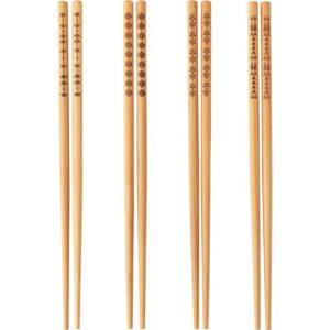 ТРЕБЕНТ Палочки д/еды 4 пары бамбук - Артикул: 903.502.25