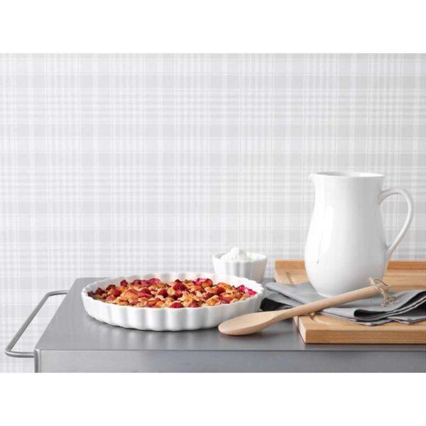 ВАРДАГЕН Форма для открытого пирога белый с оттенком 32 см - Артикул: 503.726.01