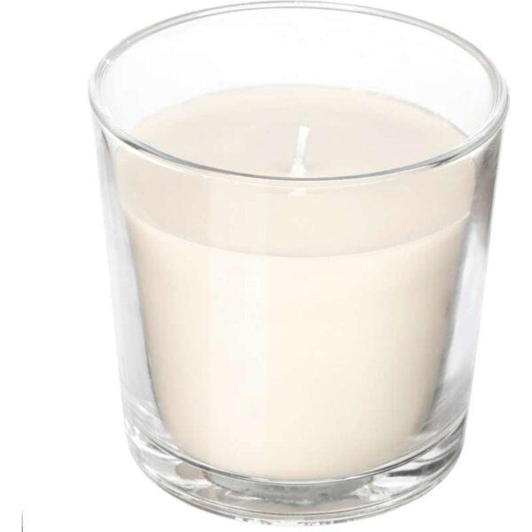 СИНЛИГ Ароматическая свеча в стакане Сладкая ваниль/естественный 7.5 см - Артикул: 103.500.74