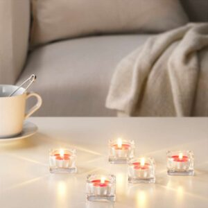 СИНЛИГ Свеча греющая ароматическая Красные садовые ягоды/красный - Артикул: 203.500.64