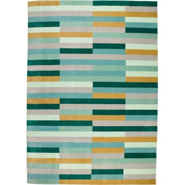 КРЁНГЕ Ковер, короткий ворс ручная работа/разноцветный 170x240 см - Артикул: 003.779.03