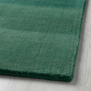 НОДЕБО Ковер, короткий ворс ручная работа/зеленый 170x240 см - Артикул: 503.723.33