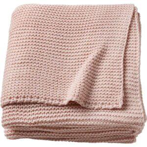 ИГАБРИТТА Плед бледно-розовый 130x170 см - Артикул: 503.740.68