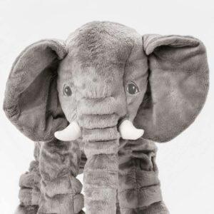 ЙЭТТЕСТОР Мягкая игрушка слон/серый - Артикул: 203.735.98