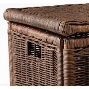 ГАББИГ Ящик для хранения темно-коричневый 71x45x48 см - Артикул: 003.764.23