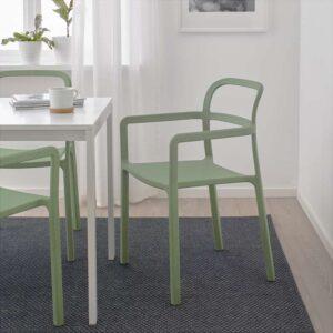 ЮППЕРЛИГ Легкое кресло для дома/сада зеленый - Артикул: 403.474.43