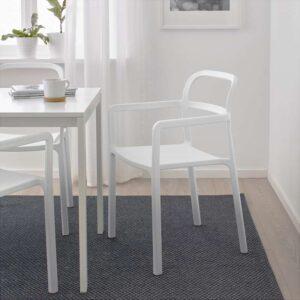 ЮППЕРЛИГ Легкое кресло для дома/сада светло-серый - Артикул: 203.474.44