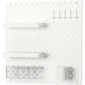 СКОДИС Настенная панель, комбинация белый 56x56 см - Артикул: 492.858.36