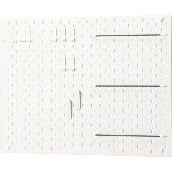 СКОДИС Настенная панель, комбинация белый 76x56 см - Артикул: 592.857.70
