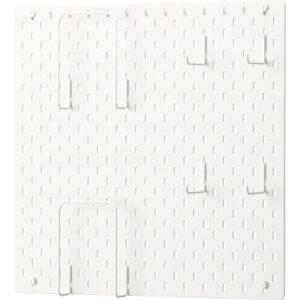 СКОДИС Настенная панель, комбинация белый 56x56 см - Артикул: 692.858.16