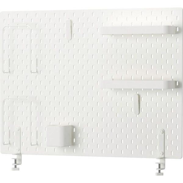 СКОДИС Настенная панель, комбинация белый 76x56 см - Артикул: 292.858.23