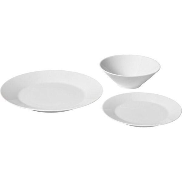 ИКЕА/365+ Сервиз 18 предметов белый - Артикул: 004.172.54
