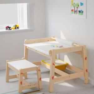 ФЛИСАТ Детский письменный стол регулируемый - Артикул: 403.661.20