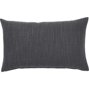 ХИЛЛАРЕД Чехол на подушку антрацит 40x65 см - Артикул: 703.701.68