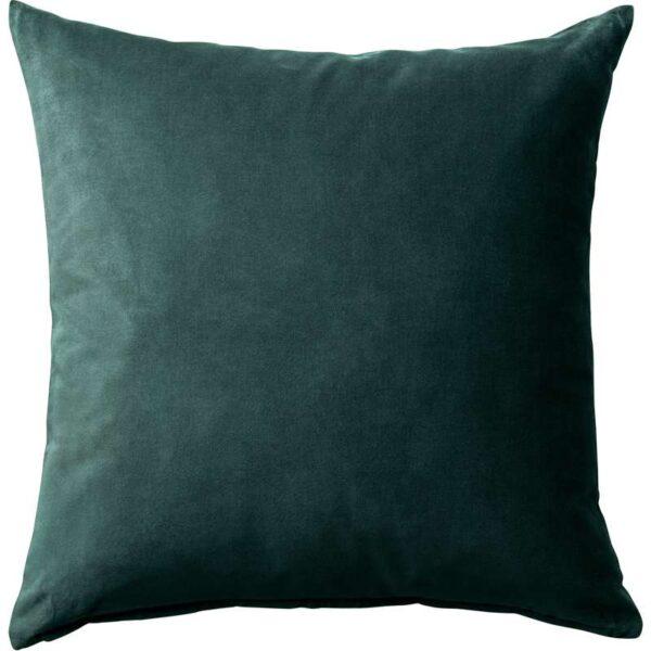 САНЕЛА Чехол на подушку темно-зеленый 50x50 см - Артикул: 403.701.55