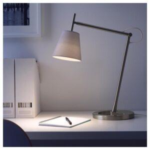 НИФОРС Лампа рабочая, никелированный белый - Артикул: 403.561.97