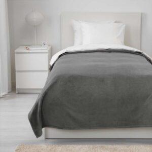ТРАТТВИВА Покрывало серый 150x250 см - Артикул: 403.840.44