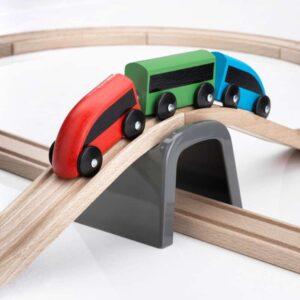 ЛИЛЛАБУ Железная дорога набор 20 предм разноцветный - Артикул: 003.627.89