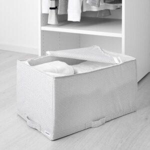 СТУК Сумка для хранения белый/серый 34x51x28 см - Артикул: 803.642.75