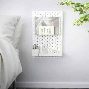 СКОДИС Настенная панель, комбинация белый 36x56 см - Артикул: 192.858.09
