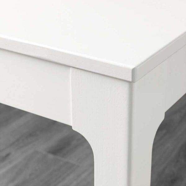 ЭКЕДАЛЕН Раздвижной стол белый 80/120x70 см - Артикул: 803.578.35