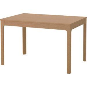 ЭКЕДАЛЕН Раздвижной стол дуб 120/180x80 см - Артикул: 203.578.24