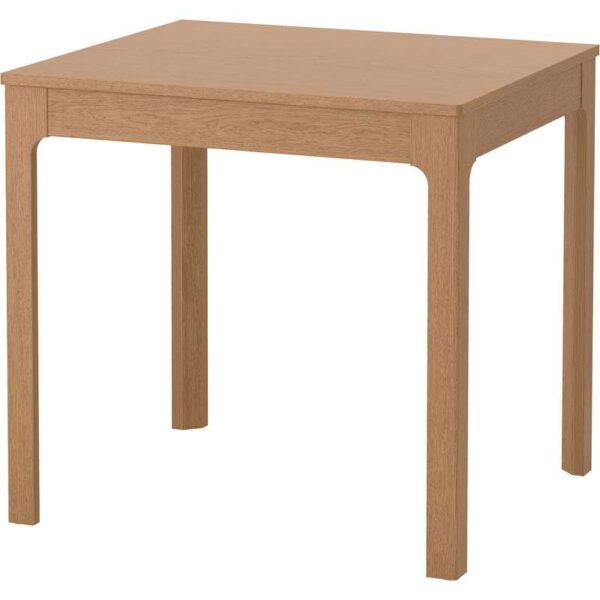 ЭКЕДАЛЕН Раздвижной стол дуб 80/120x70 см - Артикул: 103.578.34