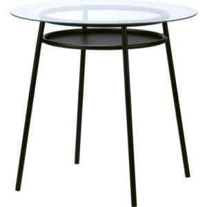 АЛЬСТА Стол стекло/металлический черный - Артикул: 703.792.63
