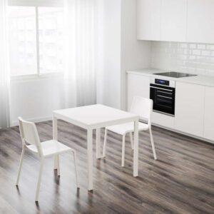 ВАНГСТА Раздвижной стол белый 80/120x70 см - Артикул: 603.751.28